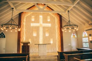 A church inside the resort for weddings and also services.