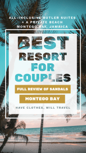 Sandals Montego Bay Resort Review - All-Inclusive Luxury Stay With Butler Service.