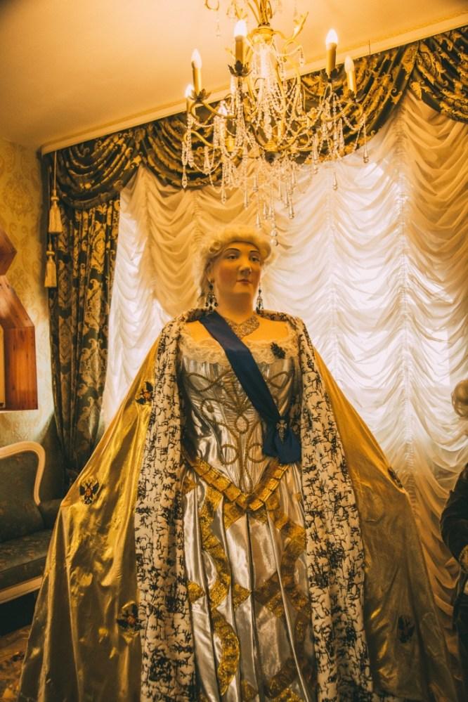 Elizabeth - Empress of Russia from 1741 - 1762.