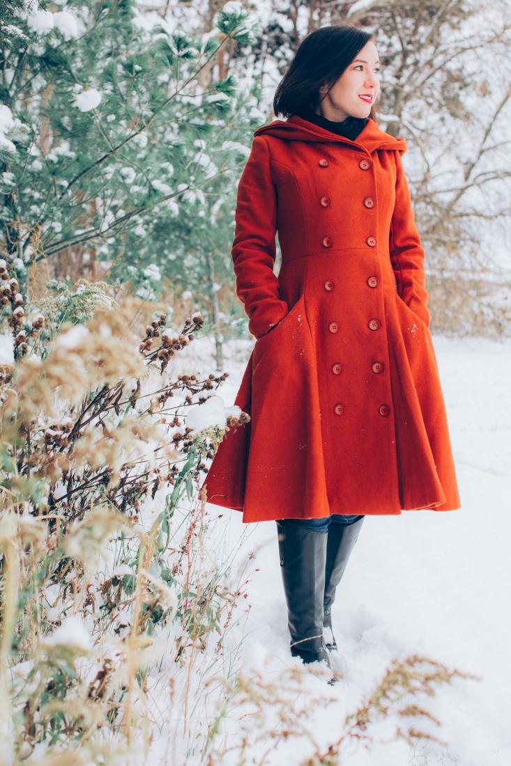 Collectif swing coat