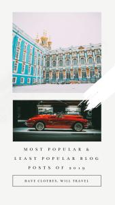 My Most Popular & Least Popular Blog Posts of 2019