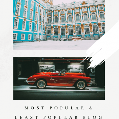 My Most Popular & Least Popular Blog Posts of 2019