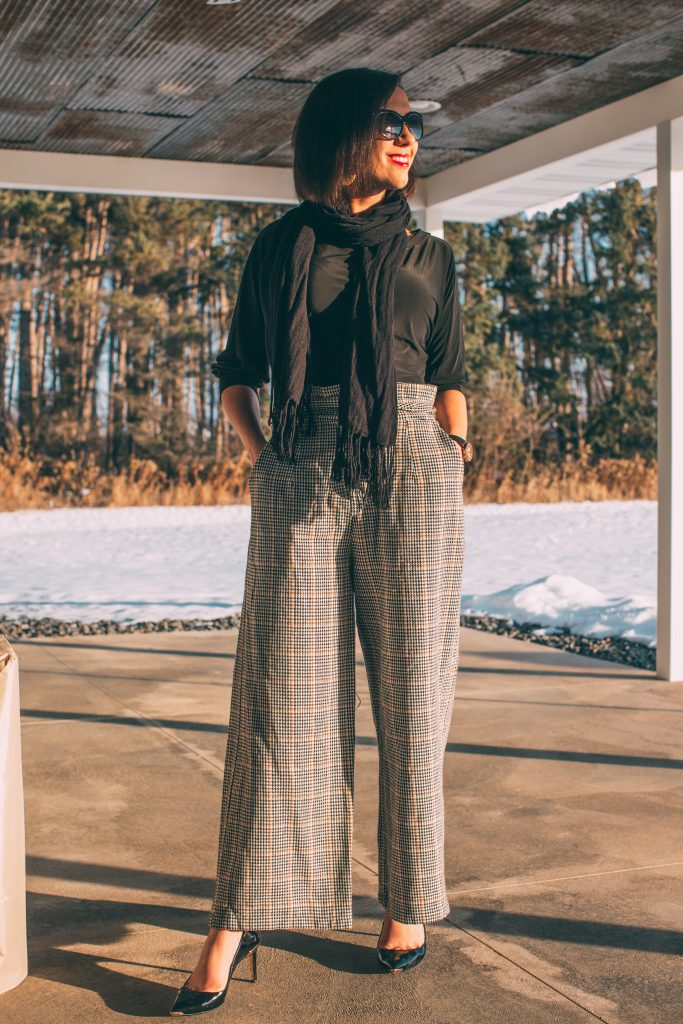 These pants from Haverdash weren't really my style - but still fun to try!