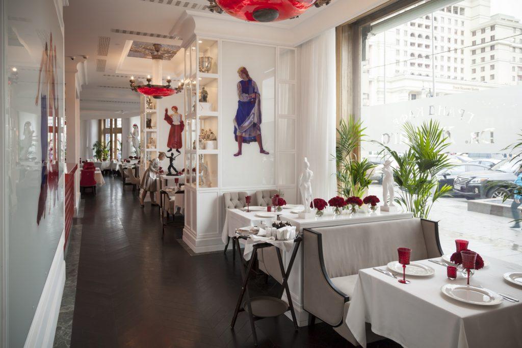 Dr zhivago restaurant interior