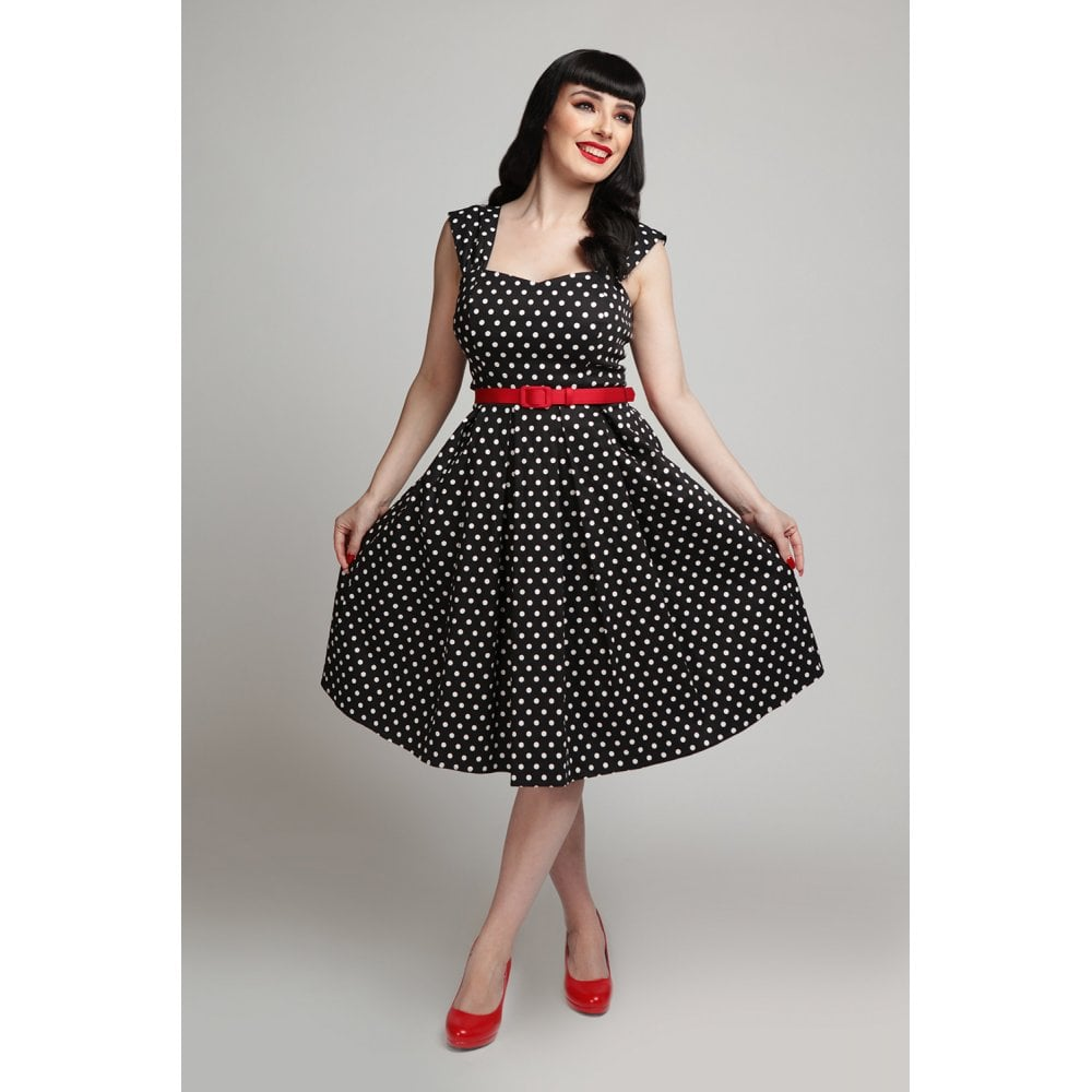 Collectif polka dot vintage-inspired swing dress -The Best ModCloth Alternatives in Europe