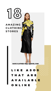 18 AMAZING CLOTHING STORES LIKE ASOS THAT ARE ALL AVAILABLE ONLINE