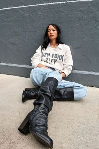 Elle Tall Slouch Boots