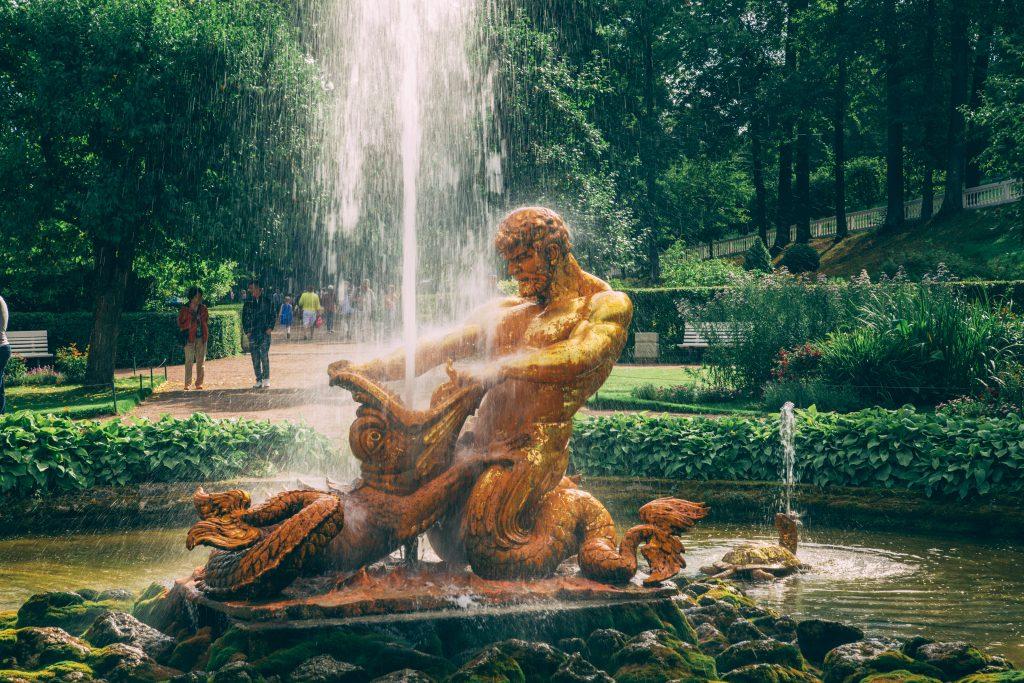"""Orangery Fountain """"Triton"""""""