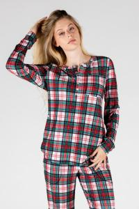 The Scotch On The Rocks Womens Christmas Pajama Top