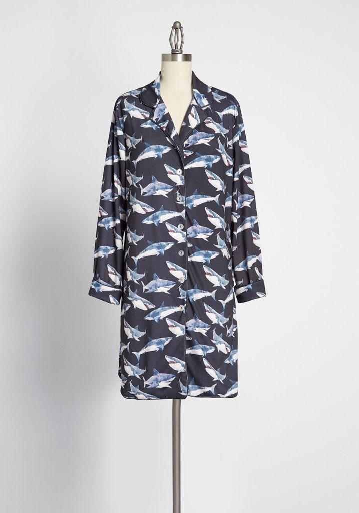 shark sleepwear