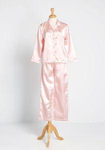 Sleep All Day Satin Pajamas