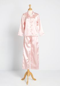 Sleep All Day Satin Pajamas