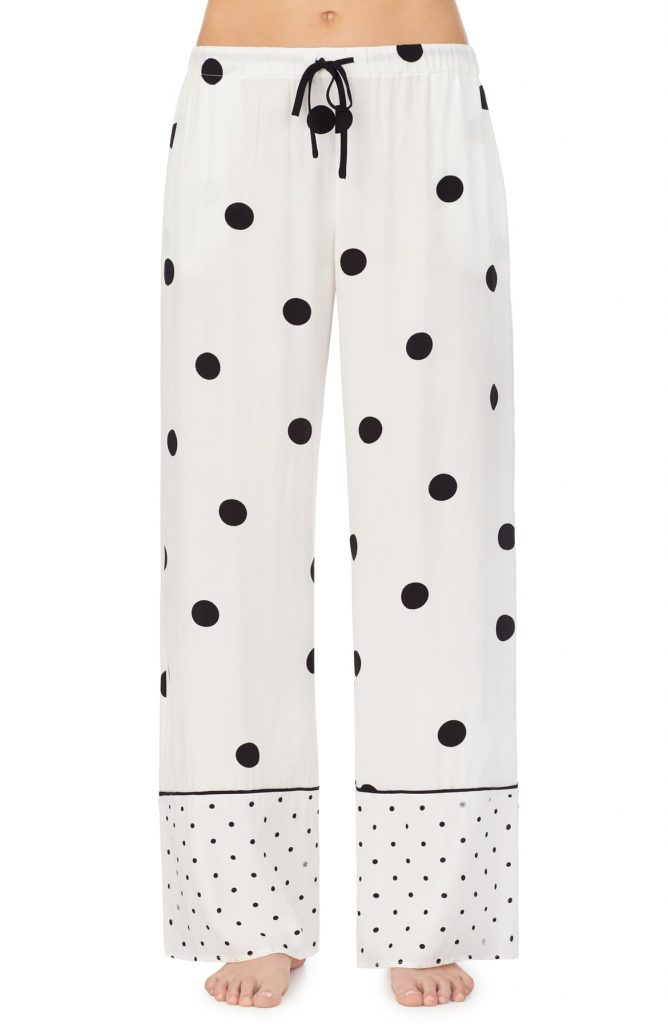 cute loungewear sets and bottoms - polka dot sweatpants
