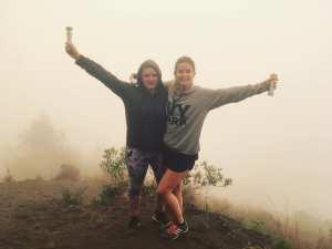 Mount Batur sunrise fail funny photo