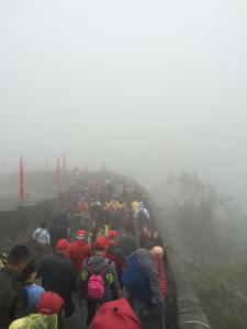 The Great Wall of China funny travel reality photo