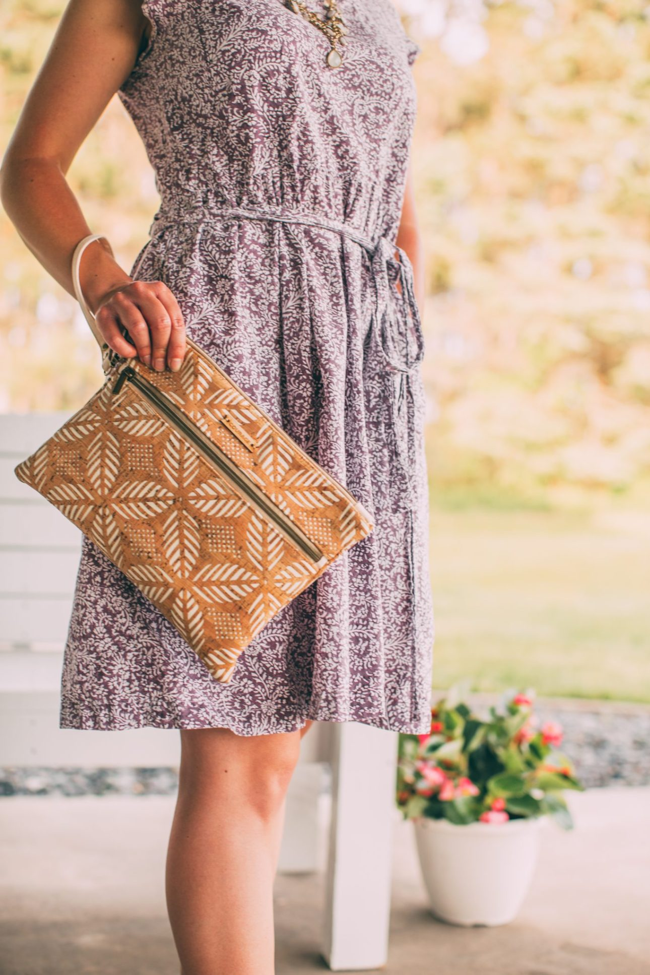 INVENTOR tablet organizer | CREAM - made from sustainable vegan cork fabric Honest Review of Carry Courage - Sustainable Travel Bags & Luggage Tags