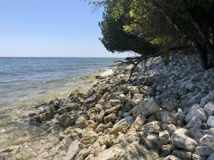Cave Point County Park in Door County - one of the best things to do in Door County Wisconsin