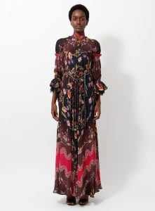 ETRO 560€ S/S 2016 Gothic Bohemian Gown