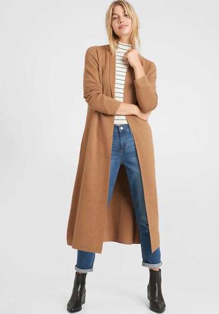 Structured Sweater Coat