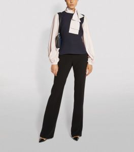ROKSANDA Megalia Two-Tone Blouse