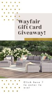Have Clothes, Will Travel 6 Year Blogiversary + Wayfair Gift Card Giveaway!