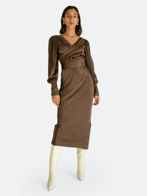 The Line by K Marfa Dress