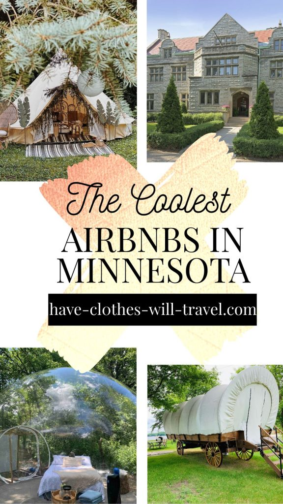The Coolest Airbnbs in Minnesota - Featuring Bubbles, Treehouses, Houseboats, Castles & More!