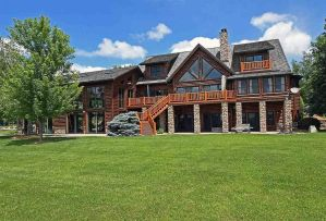 175 Acre Custom Riverfront Ranch Is All Yours...