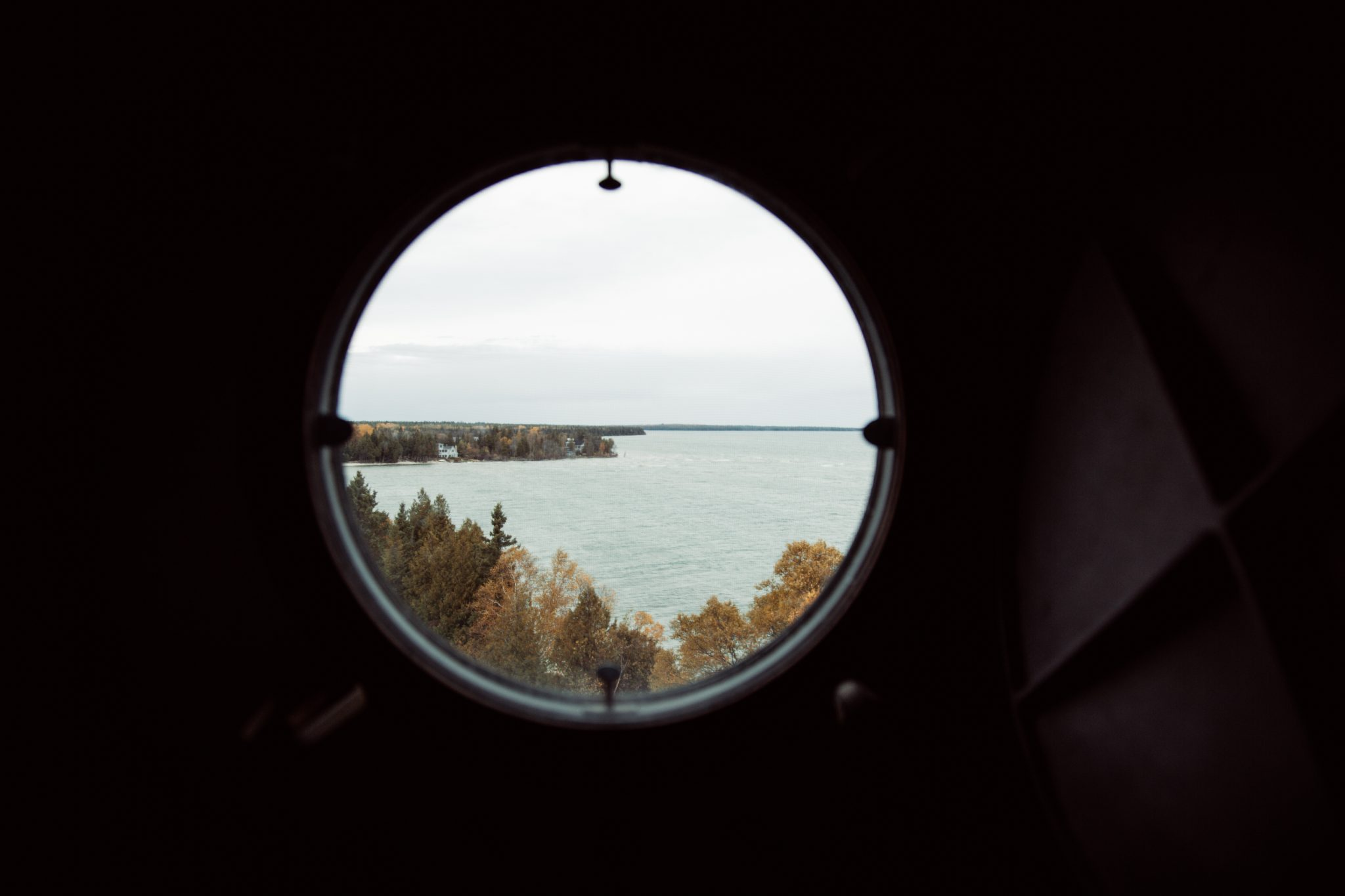 View from The Cana Island Lighthouse