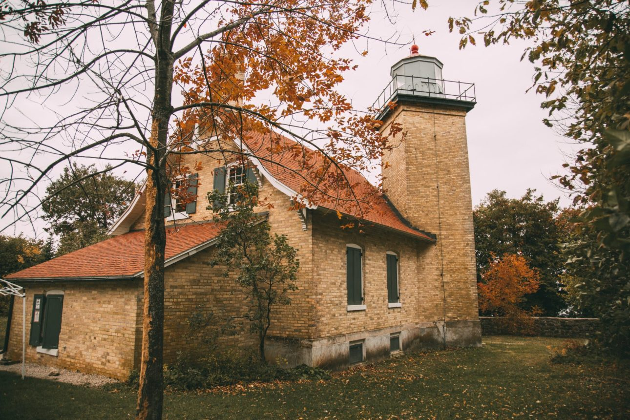 eagle bluff lighthouse peninsula state park