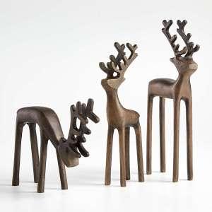 Brass Reindeer