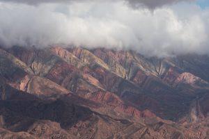 Quebrada de Humahuaca rainbow colored mountains