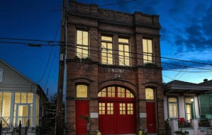 Historic Engine 24 New Orleans Firehouse - Marigny