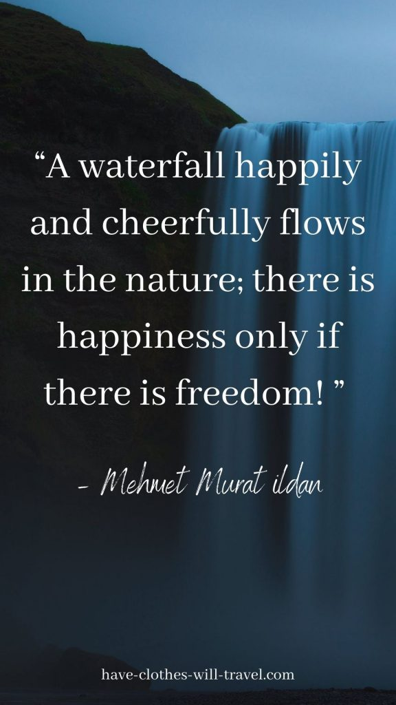 Inspiring Waterfall Quotes to Inspire Your Followers