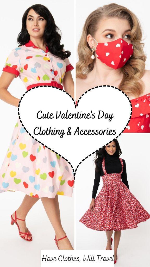 Cute Valentine's Day Clothes & Accessories
