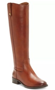 INC Fawne Riding Leather Boots , Created for Macy's