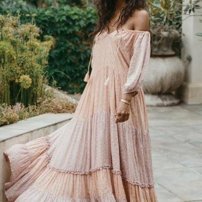 RAE GOWN Peach