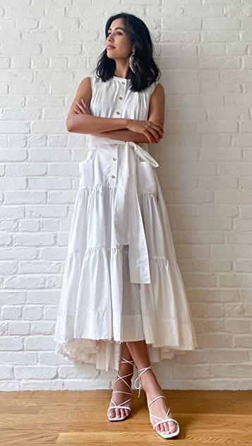 Aje Hushed Maxi Dress
