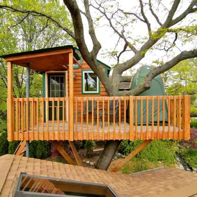 Enchanted Garden Treehouse in Schaumberg Illinois