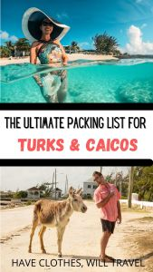 What to wear in Turks and Caicos for both men and women