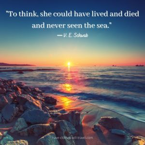 Quotes about traveling and the sea