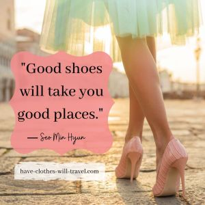 _Good shoes will take you good places._ ― Boys Over Flowers (1)