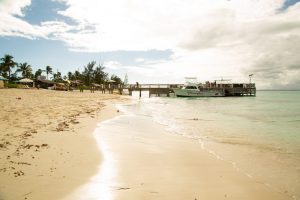 Grace Bay Beach in front of Beaches Turks and Caicos Italian Village