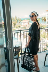 Swim suit coverups are a must pack item for Turks and Caicos