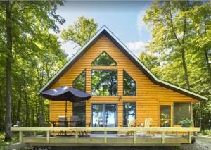 Spring Awakening in a Lakeside Cabin - Strawberry Lake Cabin