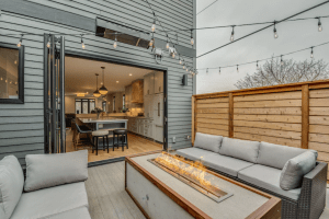 Modern, trendy 3-bedroom house