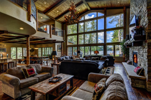 Whispering Pines Lodge with stunning lakefront views - Eagle River, Wisconsin