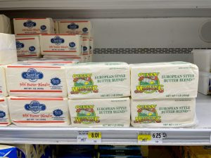 Butter Grocery Prices in Turks and Caicos