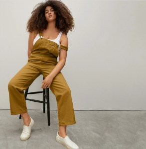 Stores like mango The Canvas Overalls