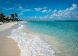 Grace Bay Beach in Providenciales Turks and Caicos